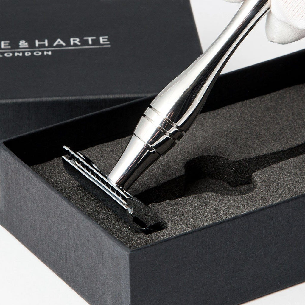 Wilde & Harte Osterley Classic Double Edge Safety Razor Double Edge Safety Razor Wilde & Harte