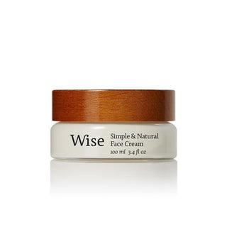 Wise Chaga Face Cream Face Moisturizer and Toner Wise Reusable Glass Bottle - 3.4 fl oz (100 ml)