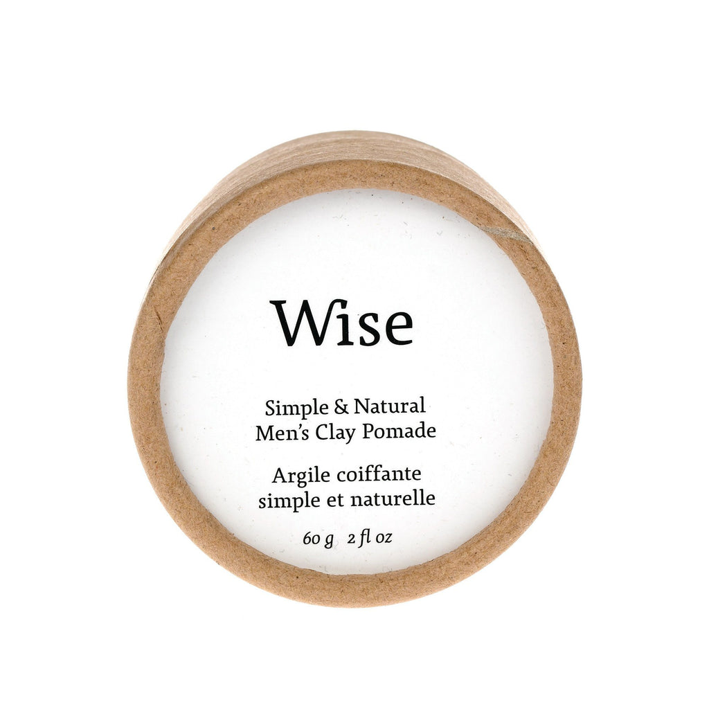 Wise Glacier Clay Pomade Hair Pomade Wise Refill Tube - 2 fl oz (60 ml)