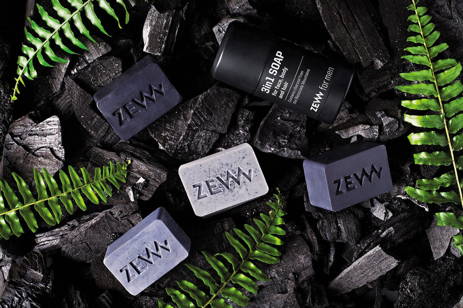 ZEW 3-in-1 Soap for Face, Body, and Hair