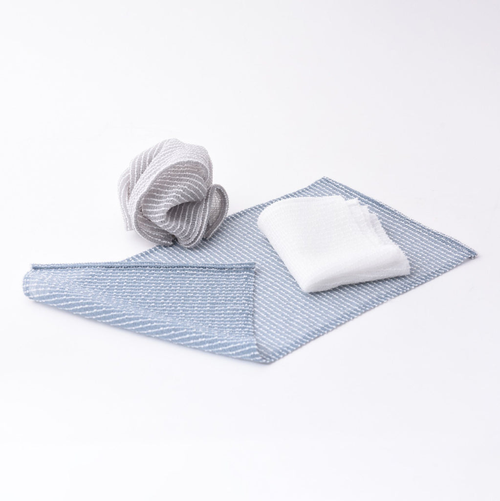 Mujun Awawa Body Scrub Towel Towel Japanese Exclusives