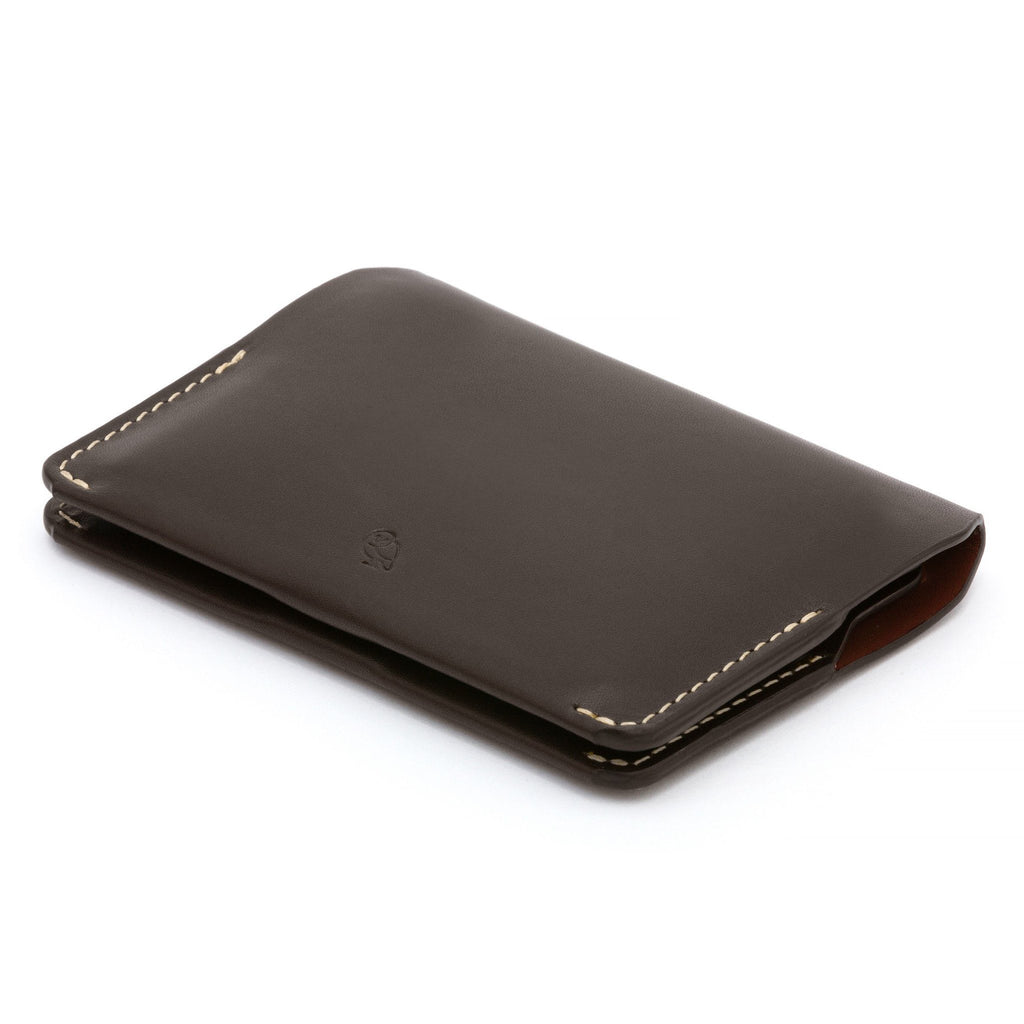 Bellroy Leather Card Holder Leather Wallet Bellroy Java