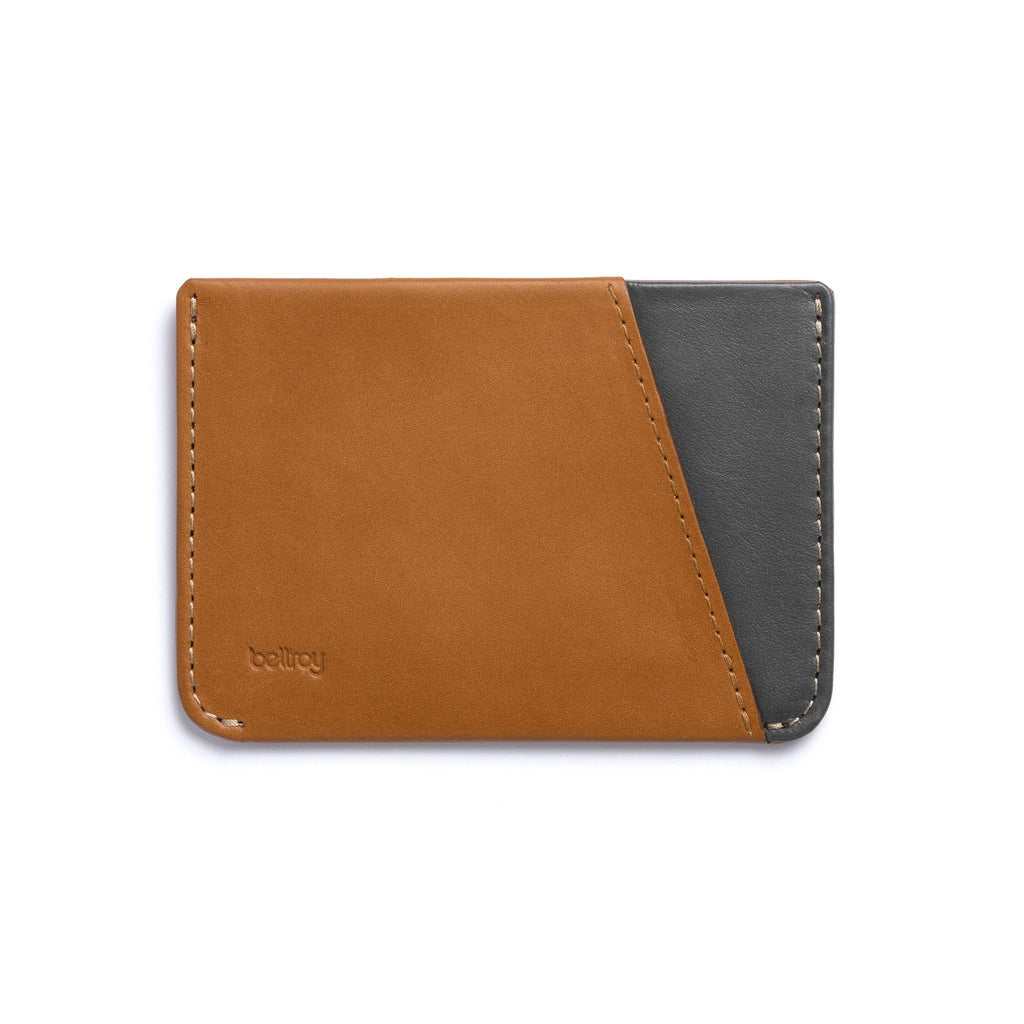 Bellroy Micro Sleeve Slim Leather Wallet Leather Wallet Bellroy Caramel