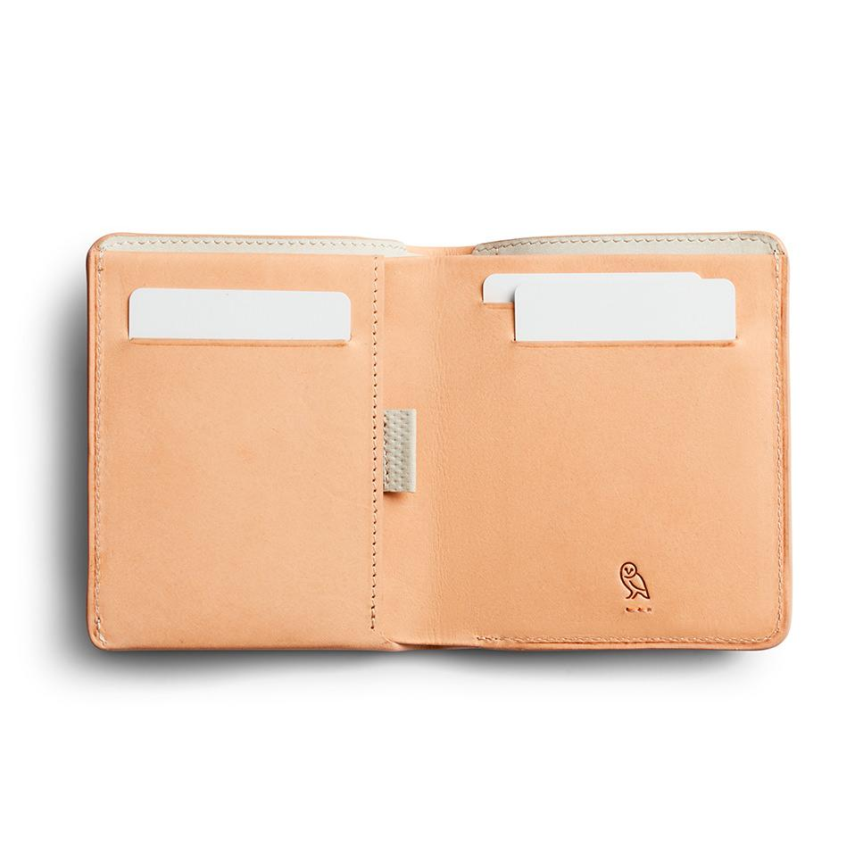 Bellroy Note Sleeve Leather Wallet, Premium Edition Leather Wallet Bellroy Natural