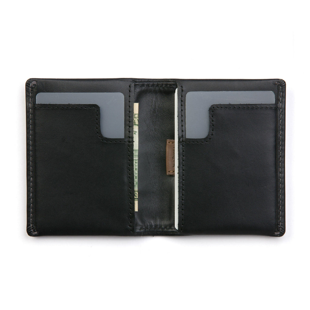Bellroy Slim Sleeve Leather Wallet Leather Wallet Bellroy Black
