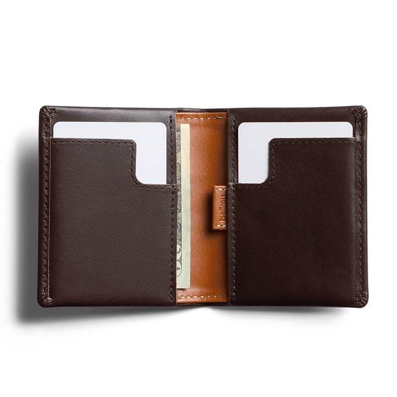 Bellroy Slim Sleeve Leather Wallet Leather Wallet Bellroy Java Caramel