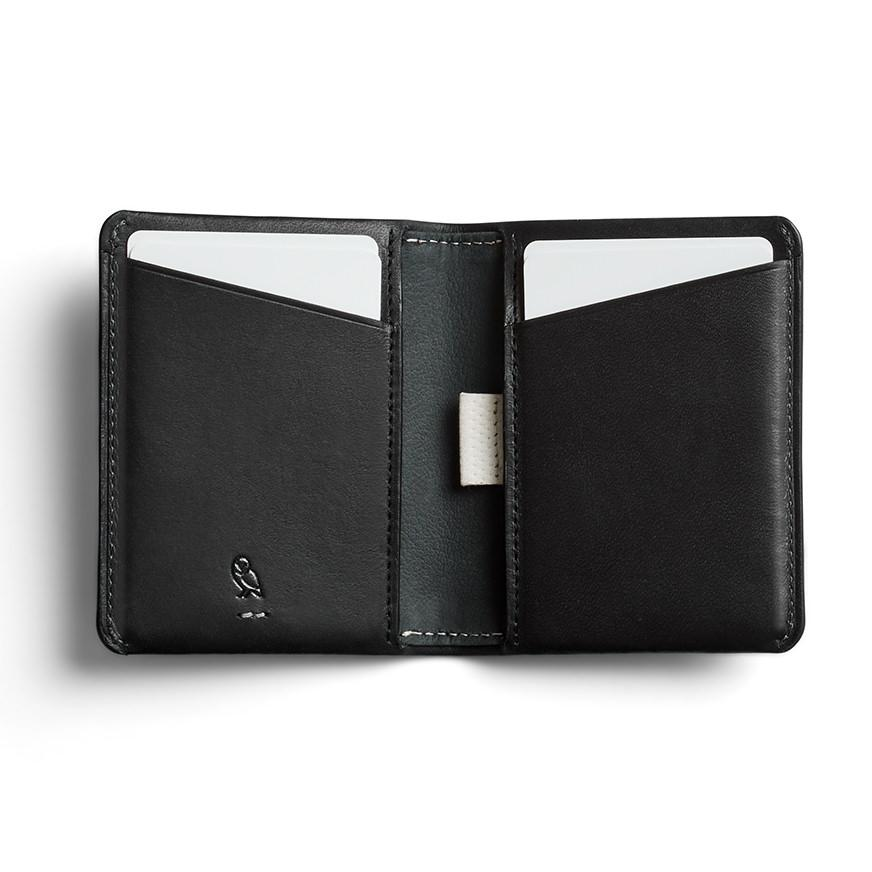 Bellroy Slim Sleeve Leather Wallet, Premium Edition Leather Wallet Bellroy Black