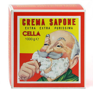 Cella Almond Soft Shaving Soap, Barbershop Size 1 Kg Shaving Soap Cella
