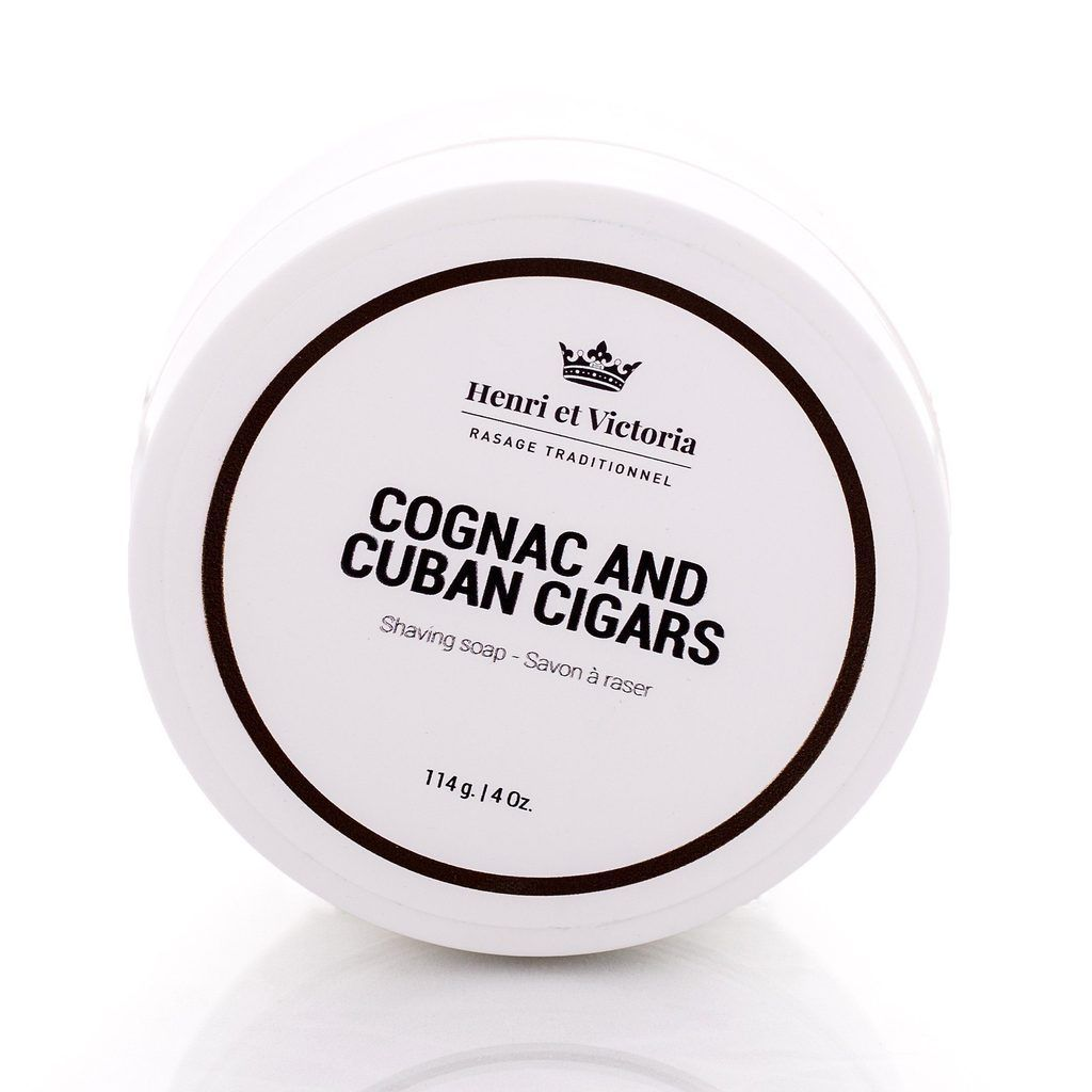 Henri et Victoria Artisan Shaving Soap Vegan 2.0 Shaving Soap Henri et Victoria Cognac and Cuban Cigars