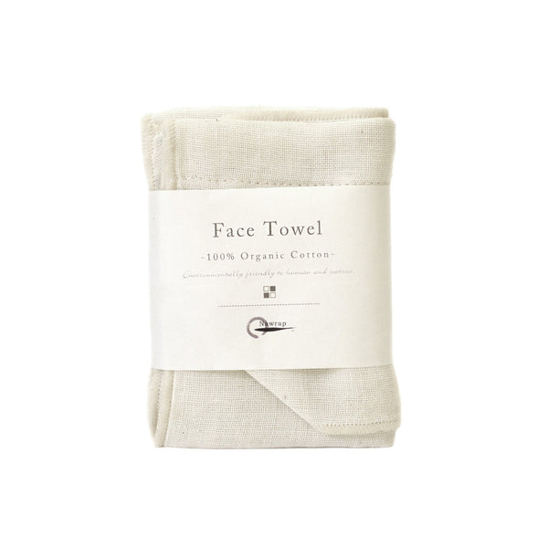 Nawrap Organic Cotton Face Towel - Fendrihan Canada - 1