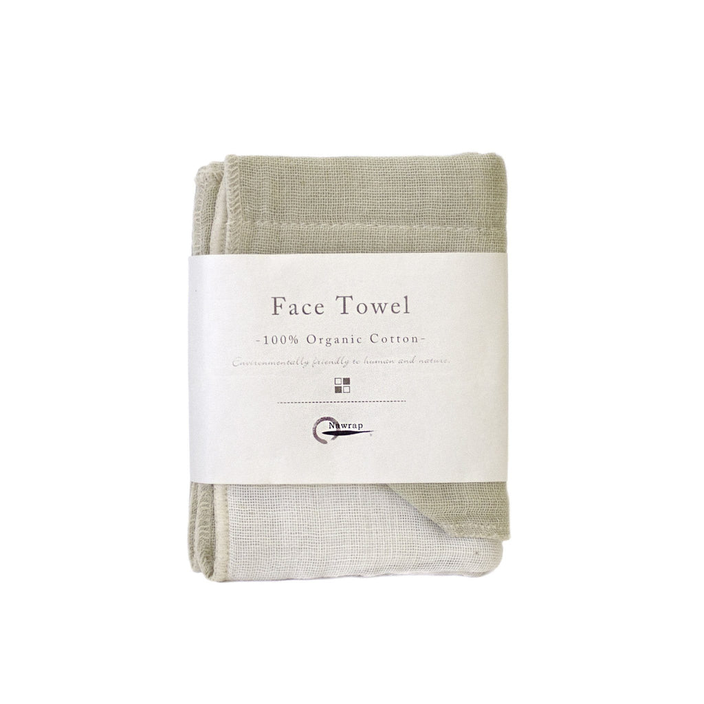 Nawrap Organic Cotton Face Towel - Fendrihan Canada - 9