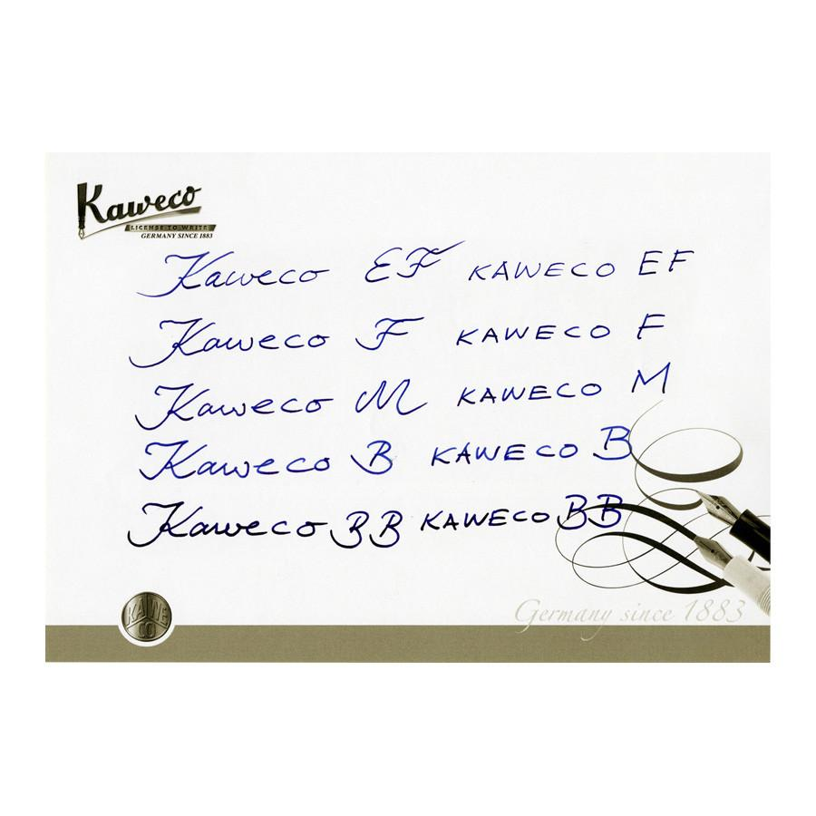 Kaweco AC Sport Carbon Fountain Pen, Black - Fendrihan Canada - 3