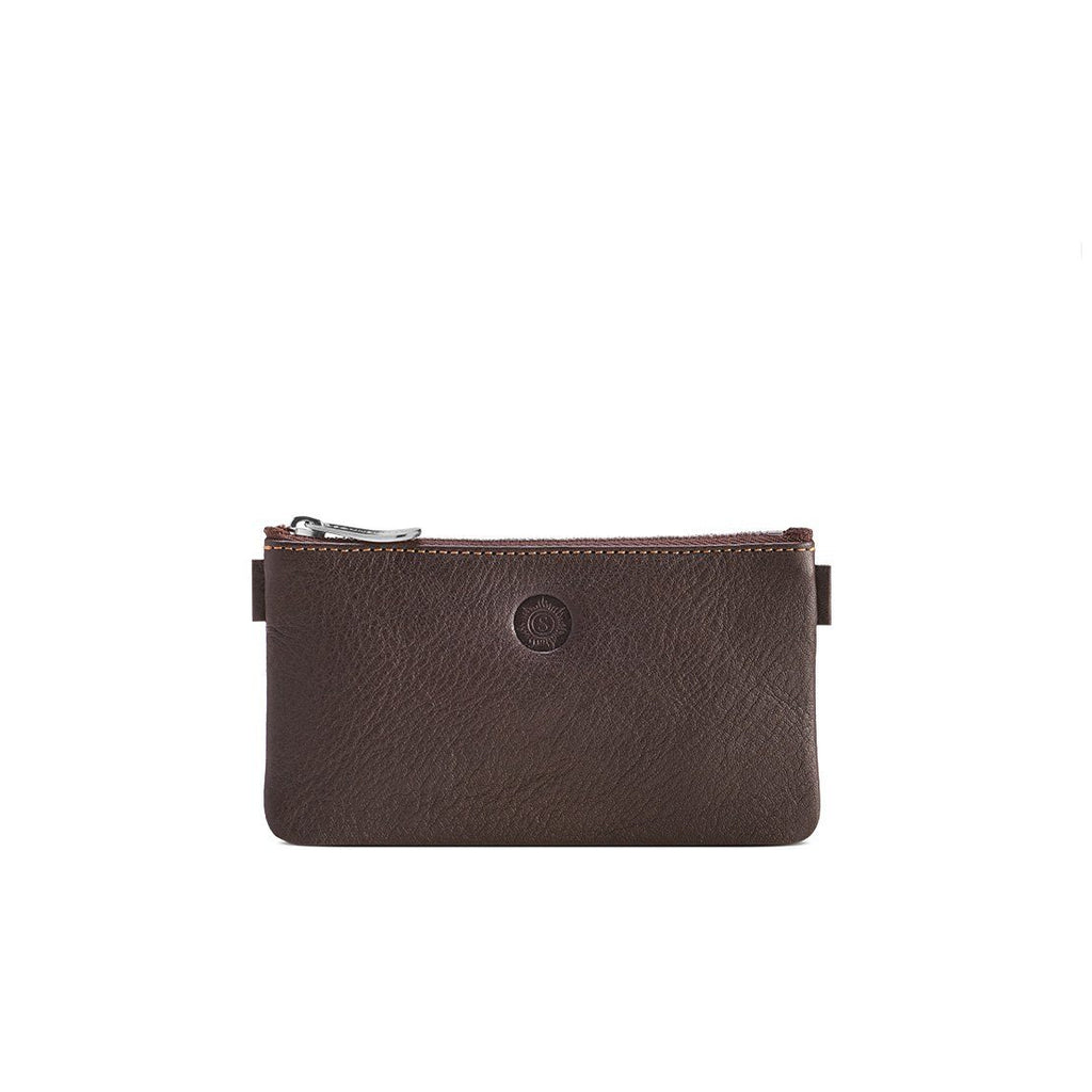"Sonnenleder ""Büchner"" Leather Pouch Pen Case Sonnenleder Brown"