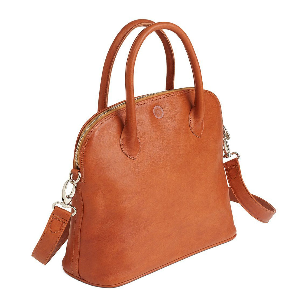 "Sonnenleder ""Roma T"" Leather Bag, Natural Leather Bag Sonnenleder"