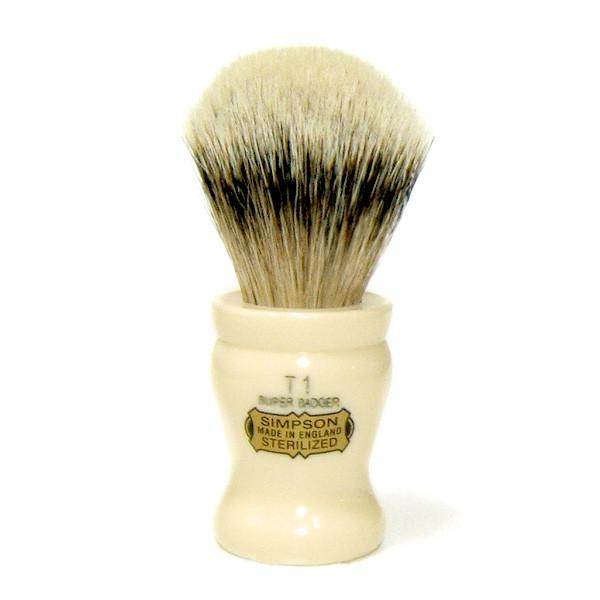 Simpsons Tulip 1 Super Badger Shaving Brush - Fendrihan Canada - 2