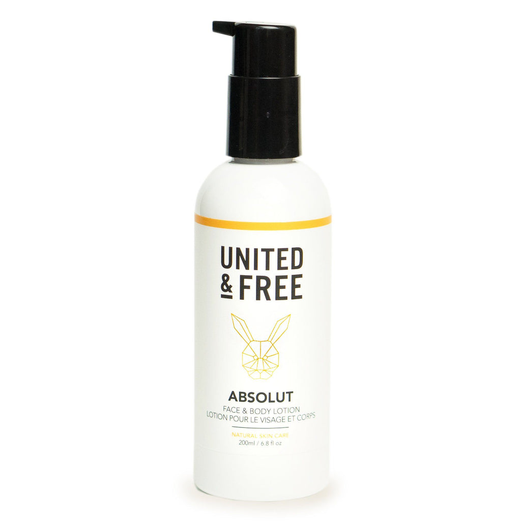 United & Free Absolut Face and Body Lotion Facial Care United & Free