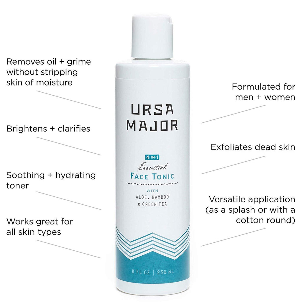 Ursa Major 4-in-1 Essential Face Tonic Face Moisturizer and Toner Ursa Major