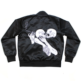 Embrace Satin Bomber
