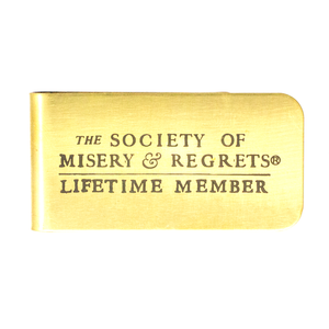 Lifetime Member Money Clip