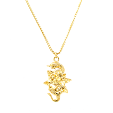 Threat Necklace - Gold