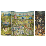 Earthly Delights Triptych Tapestry Set 103 x 60""