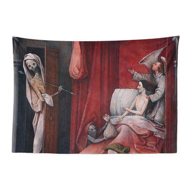 Bosch Death & Miser Tapestry
