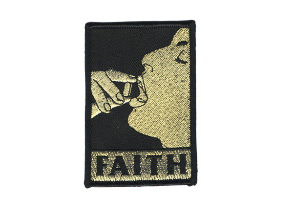 FAITH PATCH - BALL AND CHAIN CO.