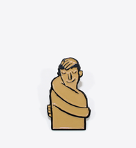 Jean Jullien Hugger Lapel Pin - BALL & CHAIN CO. - 1