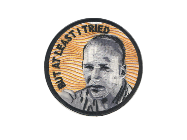 KEN KESEY PATCH - BALL AND CHAIN CO.