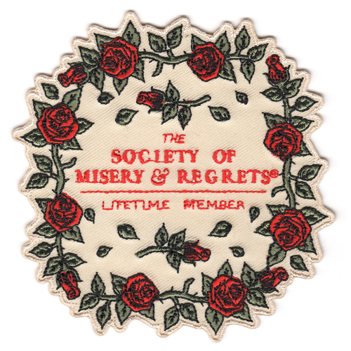 Lifetime Member Roses Patch
