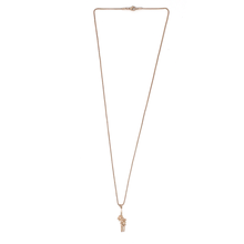 Load image into Gallery viewer, Rose Dagger Necklace - Rose Gold