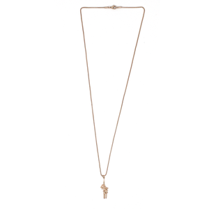 Rose Dagger Necklace - Rose Gold