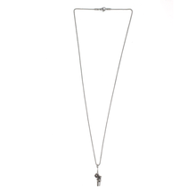 Load image into Gallery viewer, Rose Dagger Necklace - Silver