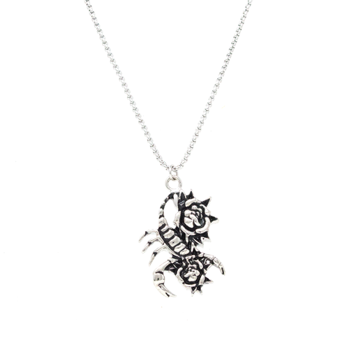 Scorpion Necklace - Silver