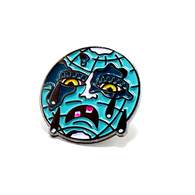 AMPHETAMINE BLUE LAPEL PIN - BALL AND CHAIN CO.