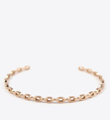 CHAIN BANGLE - ROSE GOLD - BALL & CHAIN CO. - 1
