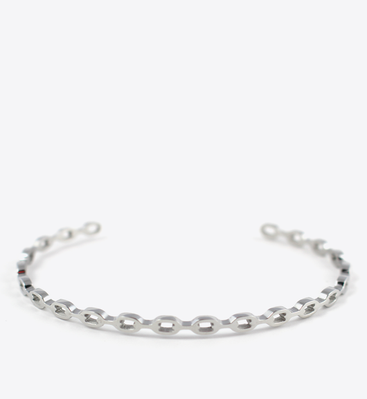 CHAIN BANGLE - SILVER - BALL & CHAIN CO. - 1