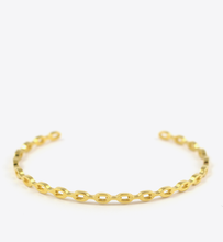 Load image into Gallery viewer, CHAIN BANGLE - GOLD - BALL & CHAIN CO. - 1