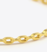CHAIN BANGLE - GOLD - BALL & CHAIN CO. - 2