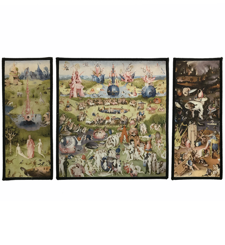 Earthly Delights Triptych Patch Set (10.5 x 6