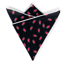 Load image into Gallery viewer, FFS Rose Pocket Square