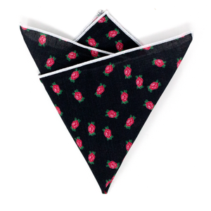FFS Rose Pocket Square