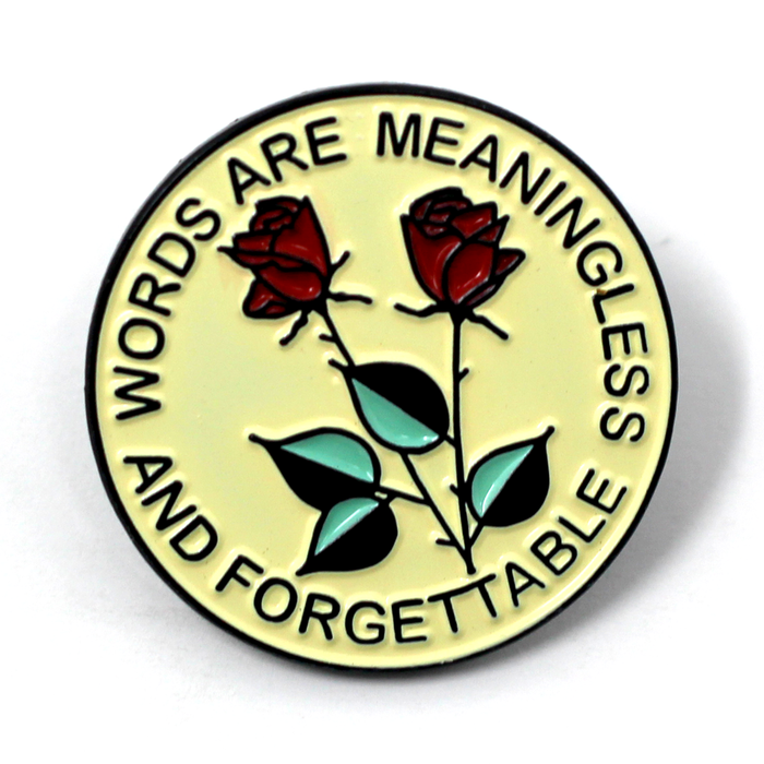 Forgettable Lapel Pin