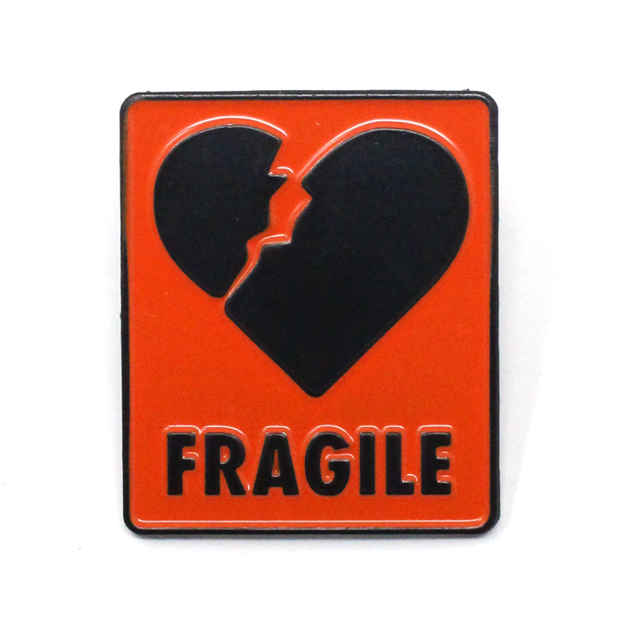 Fragile Lapel Pin