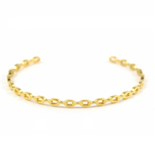 Load image into Gallery viewer, Chain Link Bangle - Gold