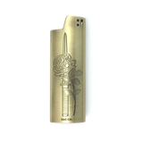 ROSE DAGGER LIGHTER CASE - BRONZE - BALL AND CHAIN CO. - 1