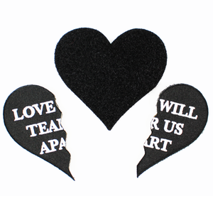 Love Will Velcro Patch