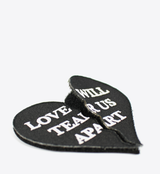LOVE WILL VELCRO PATCH - BALL & CHAIN CO. - 3