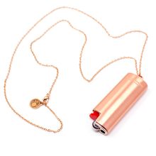 Load image into Gallery viewer, Lighter Case Necklace