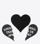 LOVE WILL VELCRO PATCH - BALL & CHAIN CO. - 2